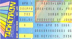 Ticket duran 5 april 1984.png
