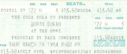 Ticket stub atlanta ga the omni wikipedia duran duran 1984.jpg