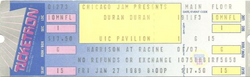 UIC PAVILION IN CHICAGO, ILLINOIS ON JANUARY 27, 1989. wikipedia duran duran.png