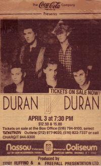 Uniondale NY USA Nassau Coliseum duran duran advert wikipedia 1984.jpg