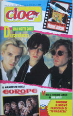 CIOE' 3 1989 Duran Duran Rick Astley Europe George Michael Bros Patsy Kensit magazine italy wikipedia.JPG