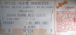 Manchester (UK), Apollo wikipedia duran duran ticket.png