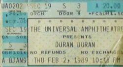 007 gibson Universal Amphitheatre, Los Angeles, CA, USA wikipedia duran duran ticket stub black sabbath.jpg