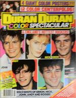 1 Duran Duran Color Spectacular Magazine 1985 rare.png