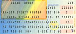 Duran duran ticket 4 feb 84.png