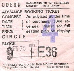 Duran duran hammersmith ticket .jpg