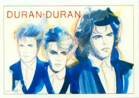Duran duran postcard designed by Jose Correa.png