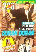 Magazine 220 Nº 25 Duran Duran Enciclopedia argentina wikipedia.jpg