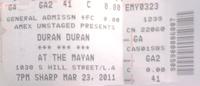 Mayan duran duran ticket stub.png
