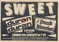 Sweet duran duran 4 january 1981 lyceum.jpg