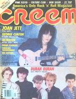 Creem Magazine July 1983. Joan Jett Clinton Ultravox Duran Duran wikipedia.JPG