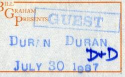 Ticket 30 july 1987 sacramento duran duran.jpg