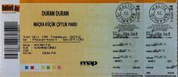 Duran Duran at Küçük Çiftlik Park, Istanbul, Turkey. wikipedia ticket stub david bowie.jpg