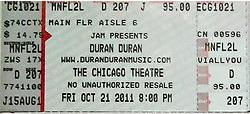 Chicago Theatre TICKETS 2011 duran duran discogs duranduran.com website.png