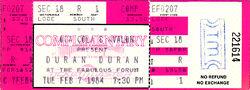 TICKET DURAN DURAN 1984-02-07 ticket.jpg