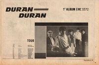 Duran duran wikipedia facebook com tour advert 1981 record mirror paper.jpg
