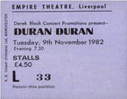 Ticket duran duran 9 november 1982 liverpool.jpg