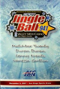 Jingle ball 94.1 radio wikipedia lenny kravitz duran duran.jpg