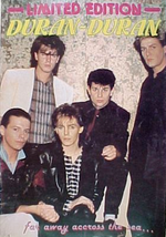 Limited edition music magazine no.11 duran duran 1980s.png