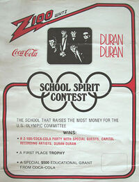 Z100 whtz radio coco cola wikipedia tour duran duran school spirit contest usa.jpg
