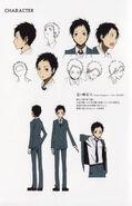 Mikado season 1 character sheet