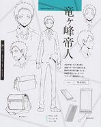Mikado character sheet