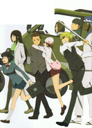 All about Durarara back cover