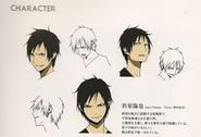 Izaya season 1 character sheet