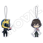 DRRR Lounge keychain Celty Shinra