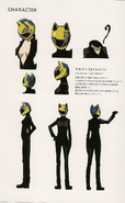 Celty character sheet