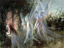 Fairies Looking Through an Open Window by John Anster Fitzgerald (1819 - 1906)