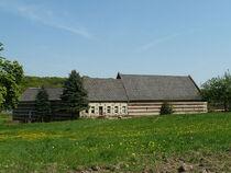 The remains of the Sint Jans Geleen castle farm in Spaubeek.