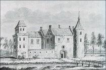 The Castle Pelgrim had built in Leerdam, by Abraham Rademaker (1676 - 1735)
