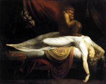 A Nachtmerrie, depicted by Henry Fuseli (1781)