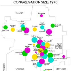 Statistical Survey of Grand Rapids Christian Reformed Congregations, 1970-1992