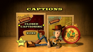 Toy Story The Ultimate Toy Box Collection (Disc 2) Toy Story 2 2000 DVD Subpicture Menu