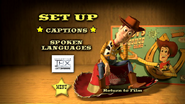 Toy Story The Ultimate Toy Box Collection (Disc 2) Toy Story 2 2000 DVD Set up Menu