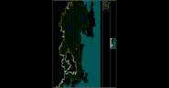 Oddalony widok na obszar w trakcie gry