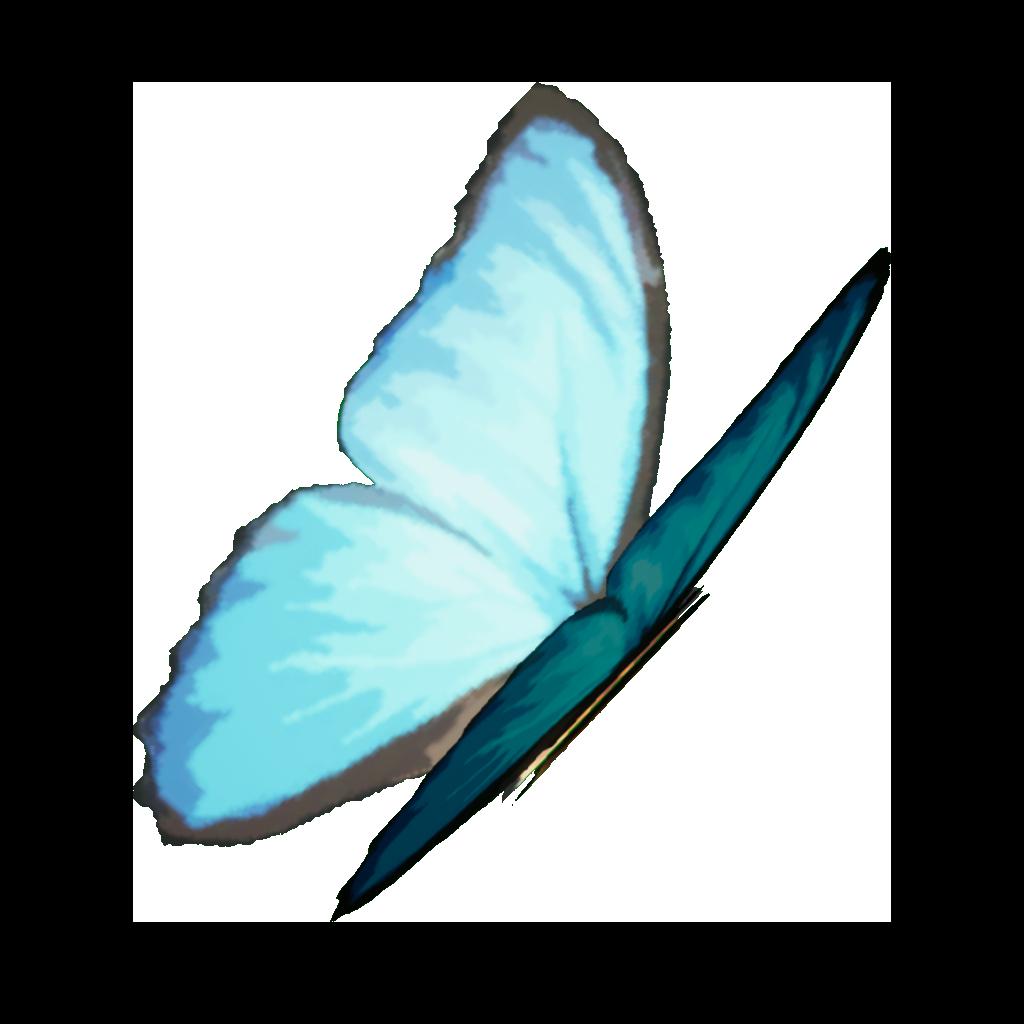 Blue Butterflies Render.png
