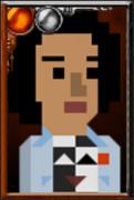 Bill Potts + Pixelated Portrait