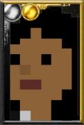 Fan Martha Jones Pixelated Doctor Portrait