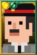 Fan Brigadier Pixelated Portrait