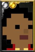 Fan Martha Jones Pixelated Jacket Portrait