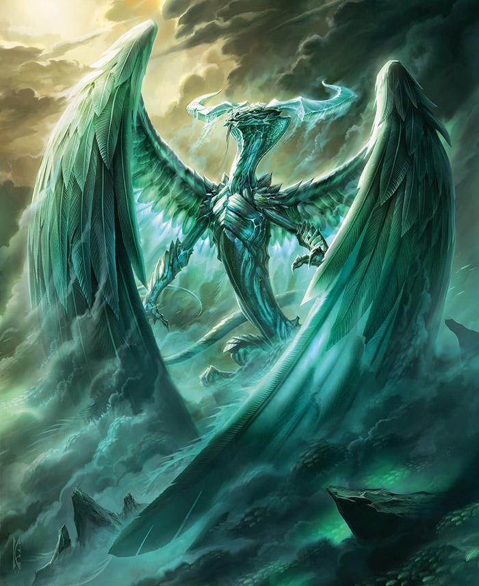 Aeternarcha, The Universe Bending Dragon God