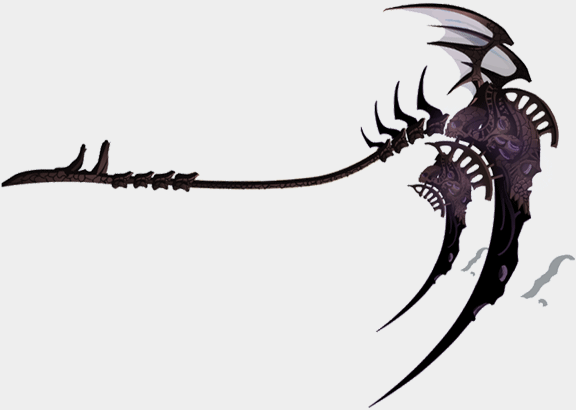 Scythe Dragon God of Death