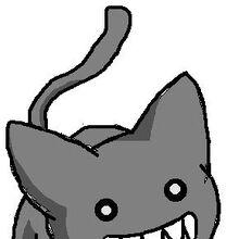 Creepy azumanga cat by calistamonkey.jpg