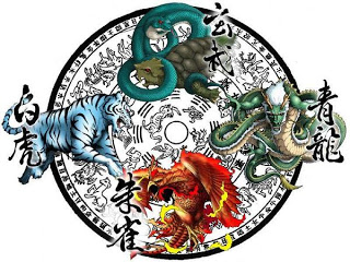 Four Sacred Beasts of China