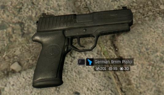 Немецкий пистолет 9 мм