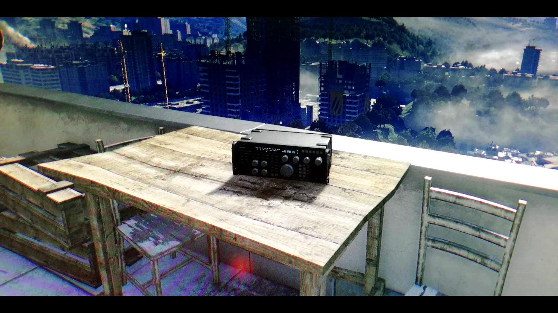 The Tower radio distress call
