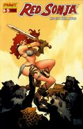 Red Sonja 05 Cover B